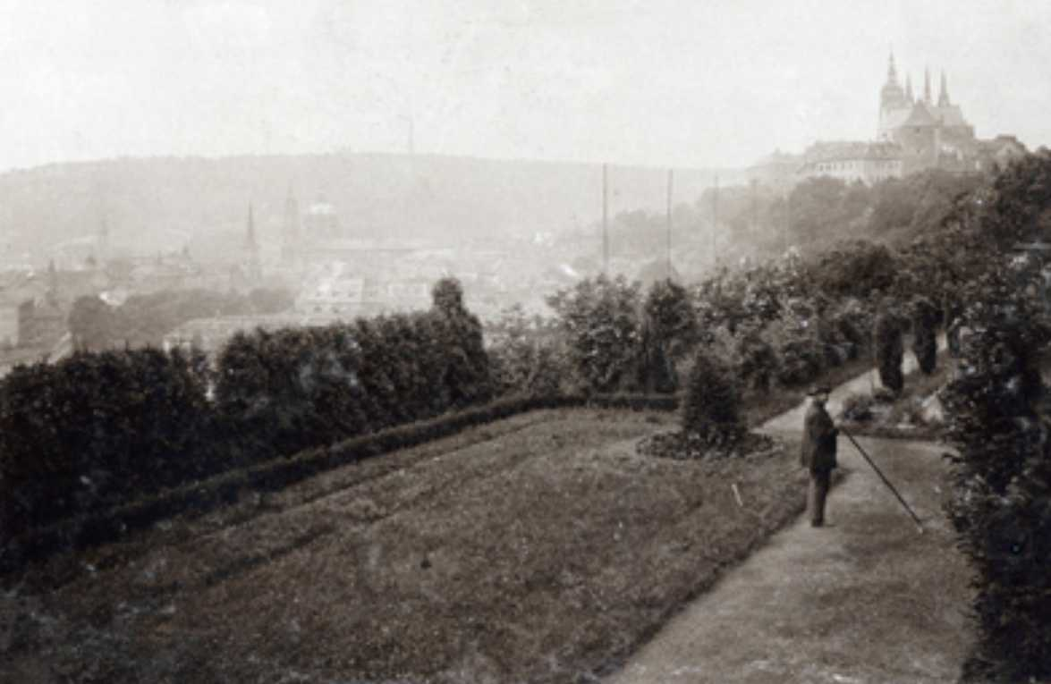 Kramářova vila zahrady
