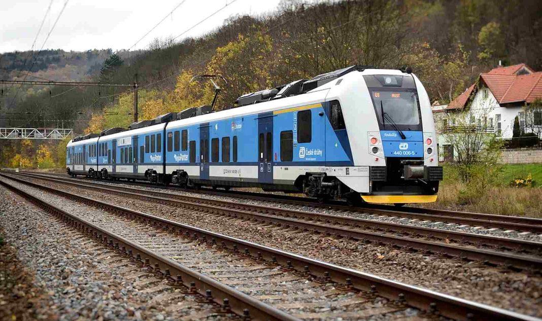 vlaky ČD F
