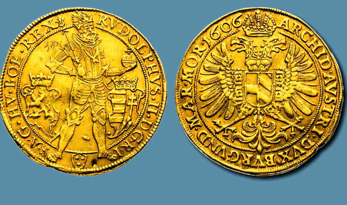 Pětidukát Rudolfa II.