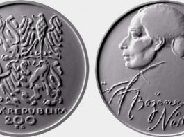 Božena Němcová pamětní mince